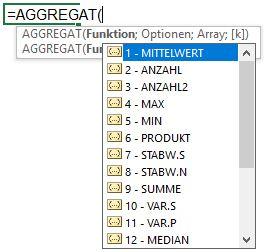 AGGREGAT_Funktion
