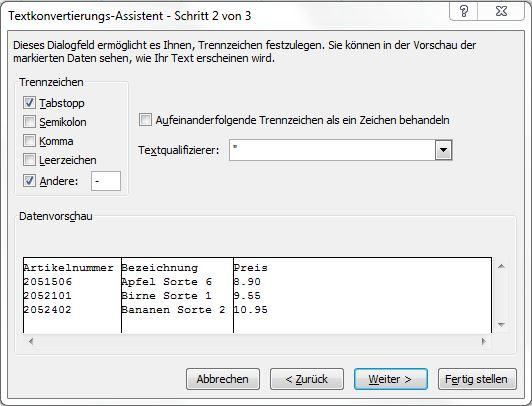 Text in Spalten2